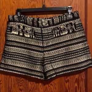 Black/Gold Shorts